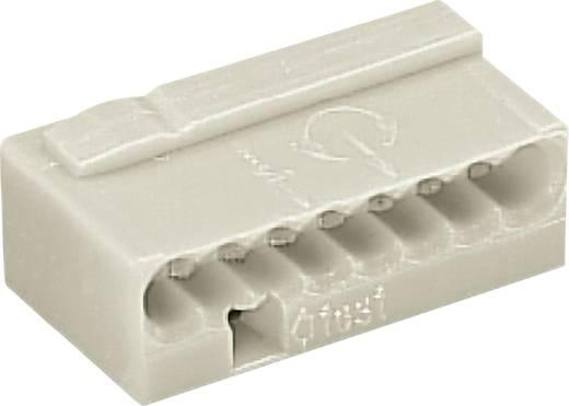 Mikró vezetékösszekötő 8 vezetékes, 0,6 - 0,8 mm² 6A, szürke, 1 db, WAGO 243-308