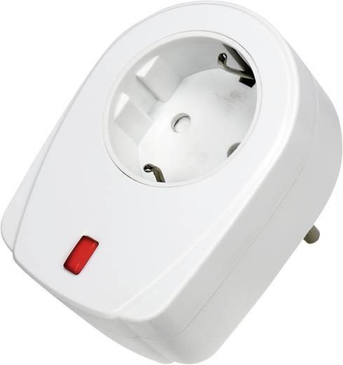 Vezeték nélküli konnektoros vevő, 1 csatornás, 2000 W, max. 30 m, RSL