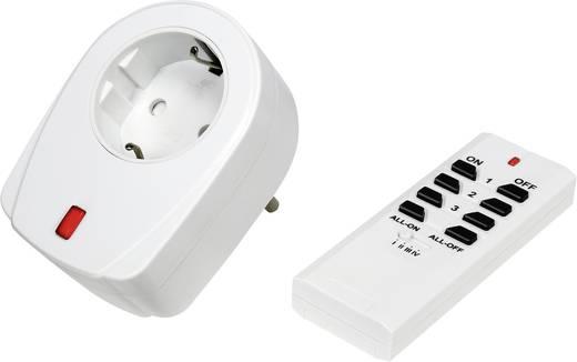 Vezeték nélküli konnektoros kapcsoló készlet, 2 részes, max. 30 m, RSL