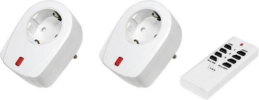 Vezeték nélküli konnektoros kapcsoló készlet, 3 részes, max. 30 m, RSL