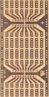 Kisérletező panel, (H x Sz) 110 x 80 mm, 35 µm, raszterméret 2,54 mm, keménypapír, Rademacher WR-Typ 911, 1 db Rademacher