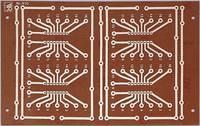 Rademacher WR-Typ 910 Panel Keménypapír (H x Sz) 160 mm x 100 mm 35 µm Raszterméret 2.54 mm Tartalom 1 db (VK C-910-HP) Rademacher