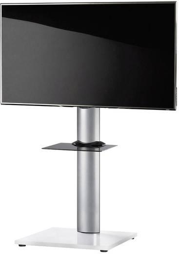TV tartó állvány alumíniumból, fekete-fehér színben VCM Onu 17032