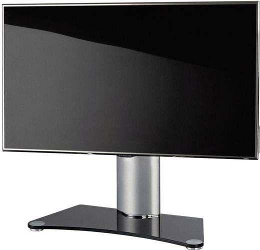 TV tartó állvány alumíniumból, fekete-ezüst színben VCM Windoxa 17080