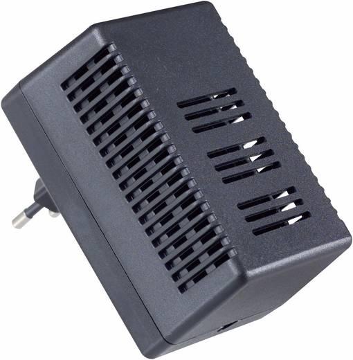 Dugaszolható műszerdobozok 95 x 63 x 49 ABS Fekete