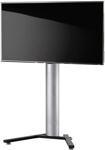 TV tartó állvány alumíniumból, fekete, ezüst színben VCM Stadino Maxi 17025