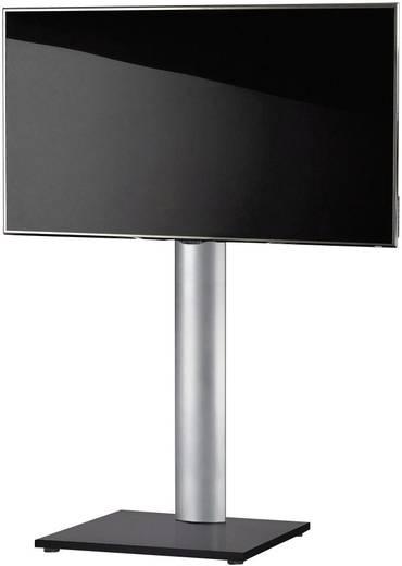 TV tartó állvány alumíniumból, fekete, ezüst színben VCM Onu 17027