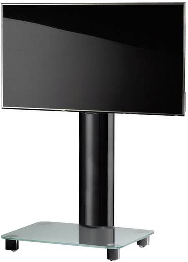 TV tartó állvány alumíniumból, fehér-ezüst színben 81 - 152cm (32-60) készülék méretig VCM Tosal 17131