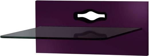 Fali tartó konzol, TV-hez, Hi-Fi berendezésekhez lila színben VCM Xeno-1 19087
