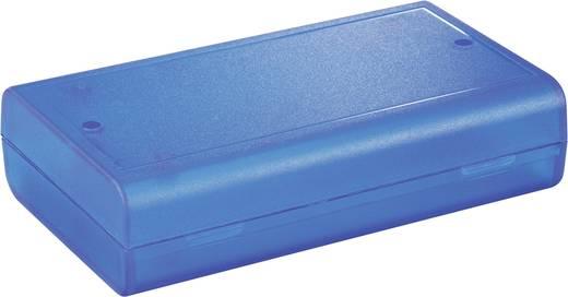 Műanyag ház 124x72x30 mm kék