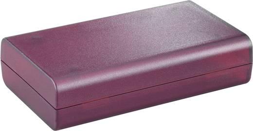 Műanyag ház 124x72x30 mm piros