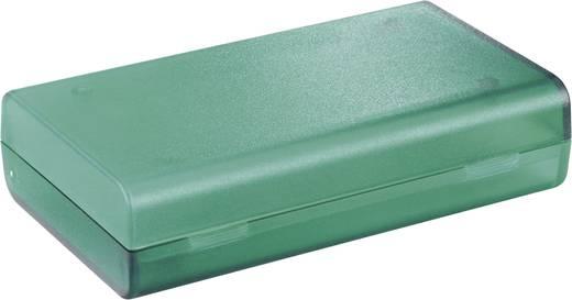 Műanyag ház 124x72x30 mm zöld