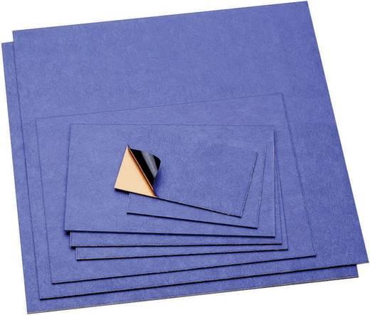 Bungard nyák bázisanyag Réz bevonat (H x Sz x Ma) 100 x 60 x 1.5 mm 130306E50 keménypapír / Egyoldalú / 1 x 35 µm Cu
