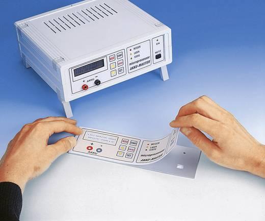 Kétoldalas előlap fólia, átlátszó, öntapadós, DIN A4, 125 µ