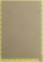 Rademacher WR-Typ 832-EP Kísérletező panel Epoxi (H x Sz) 160 mm x 100 mm 35 µm Raszterméret 2.54 mm Tartalom 1 db (832-EP) Rademacher