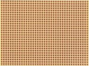 Panel Keménypapír (H x Sz) 100 mm x 75 mm 35 µm Raszterméret 2.54 mm Tartalom 1 db, Rademacher WR-Typ 811-2  Rademacher