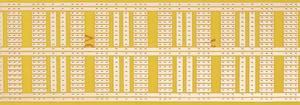 Kísérletező panel, 930-1 HP 160 x 60 Rademacher