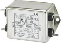 Hálózati szűrő, 250V/AC, 4 x 1.2 mH, 250V/AC, 10A, Yunpen YE10T1L2 Yunpen