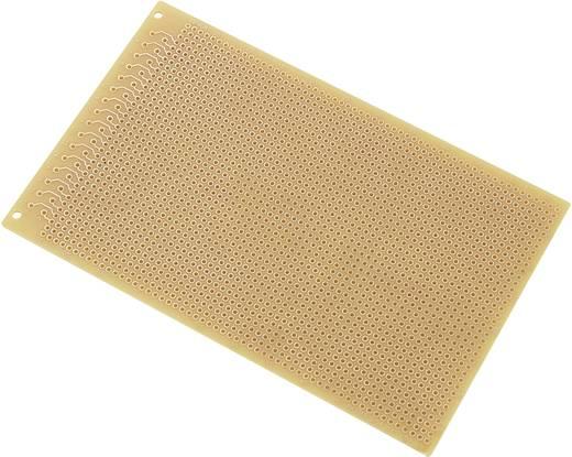 Conrad Euro nyomtatott lap DIN 41612 SU527413 (H x Sz) 160 mm x 100 mm Raszterméret 2.54 mm Keménypapír