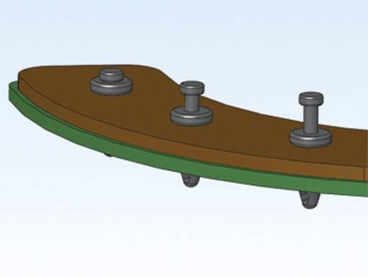 Richco Mini szegecsek, TRM (A x B x C x D) 1.3 x 7.6 x 1.5 x 11.9 mm Lemezméret 6.7 - 7.4 mm Nylon Fekete
