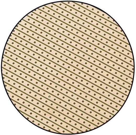 Conrad Epoxi panel forrasztó csík raszterrel SU527427 (H x Sz) 160 mm x 100 mm Raszterméret 2.54 mm Epoxi