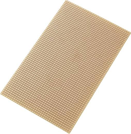 Tru Components Euro panel, 100 x 160 mm SU527453 (H x Sz) 160 mm x 100 mm Raszterméret 2.54 mm HP