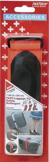 Tépőzáras öv poggyászhoz, 200 cm x 5 cm, narancs, Fastech 922-1319
