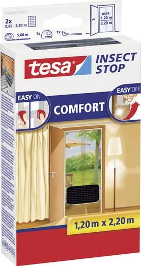 TESA® COMFORT szúnyogháló ajtóra, 2,2 x 1,3 m, antracit