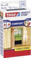 TESA® COMFORT szúnyogháló ajtóra, 2,2 x 1,2 m, antracit (55389-21) tesa