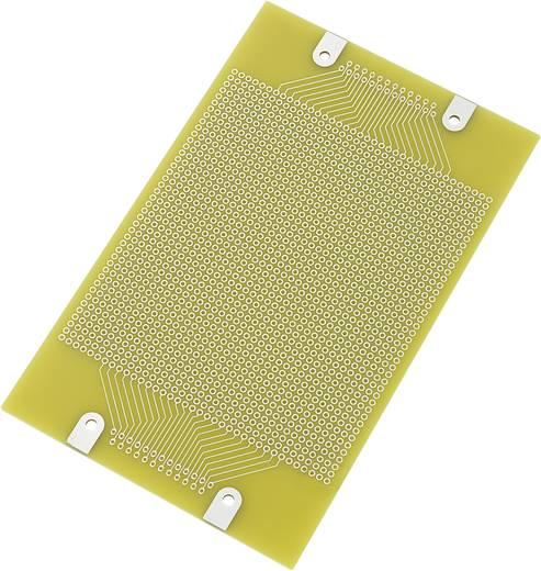Euro panel - pontraszterrel SU529023 (H x Sz) 160 mm x 100 mm Raszterméret 2.54 mm Epoxi réz borítással, Tru Components