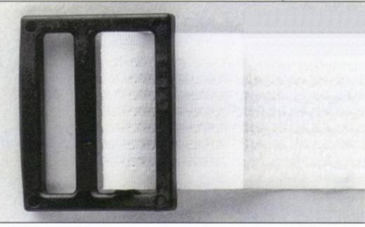 Öntapadós tépőzár, 1 m x 2,5 cm, fehér, Fastech 671-010