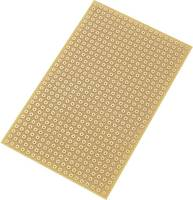 Euro panel Keménypapír (H x Sz) 160 mm x 100 mm 35 µm Raszterméret 5.08 mm TRU COMPONENTS SU527785 1 db (530773) TRU COMPONENTS
