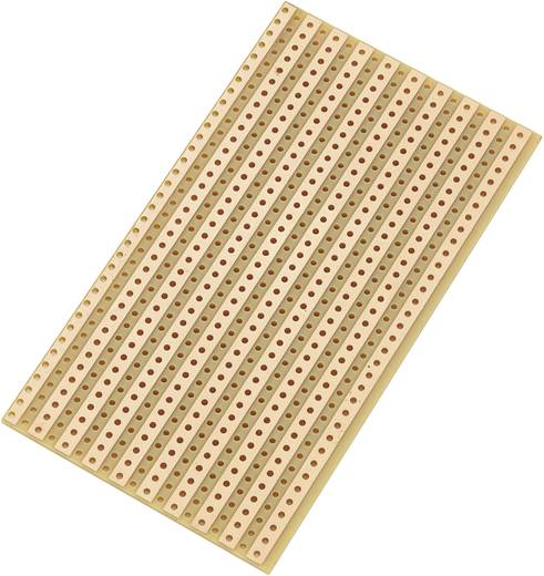Conrad Univerzális panel csík raszterrel SU527610 (H x Sz x Ma) 90 x 50 x 1.6 mm Raszterméret 5.08 mm Keménypapír