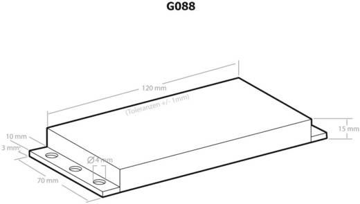 Univerzális műszerdobozok 120 x 70 x 15 Műanyag Fekete Kemo G088 1 db