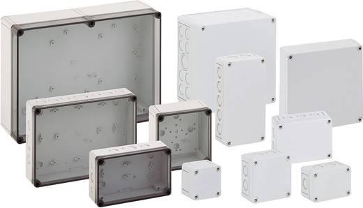 Fali doboz, 2518-6F-M, műanyag, metrikus kitörhető nyílásokkal