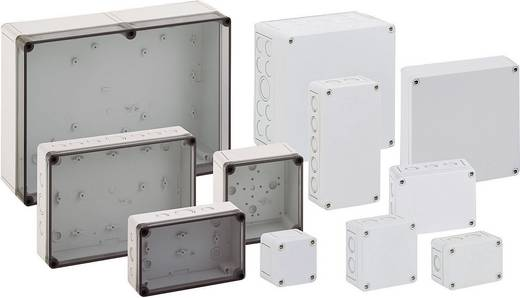 Fali doboz, 99-6-TM, műanyag, metrikus kitörhető nyílásokkal