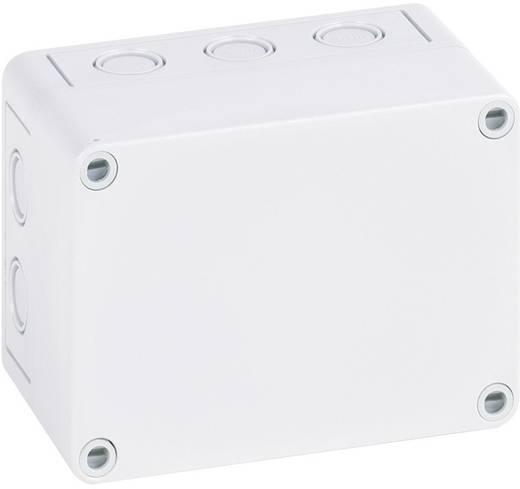 Fali doboz, 2518-8F-M, műanyag, metrikus kitörhető nyílásokkal