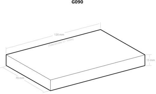 Univerzális műszerdobozok 120 x 70 x 15 Műanyag Fekete Kemo G090 1 db