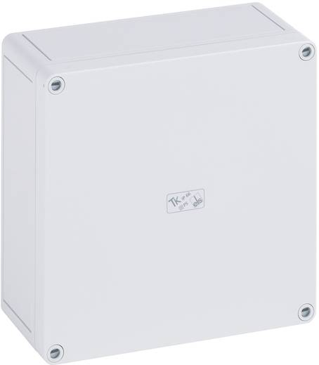 Fali doboz, 2518-6F, műanyag, sima oldalfalakkal