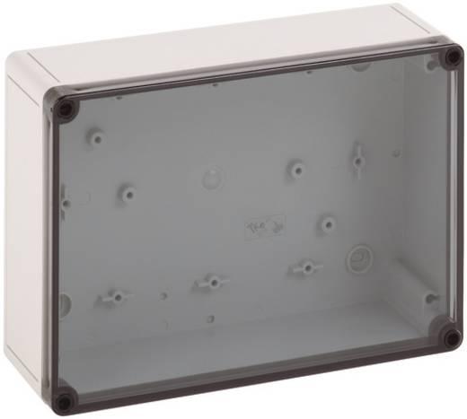 Fali doboz, 2518-9-T, műanyag, sima oldalfalakkal