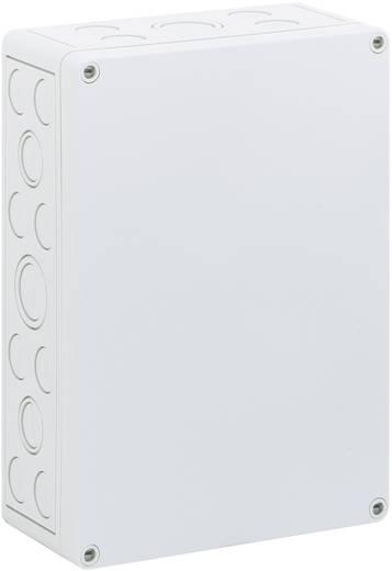 Fali doboz, 2518-9-M, műanyag, metrikus kitörhető nyílásokkal