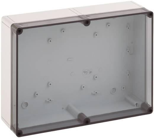 Fali doboz, 3625-11-T, műanyag, sima oldalfalakkal