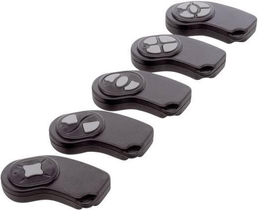 Kézi műszerdoboz ABS fekete 72 x 32 x 9.5 Axxatronic 24080225-CON, 1db