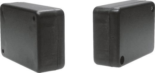 Strapubox műanyag műszerház, 80x55x28 mm, szürke, KK52GR