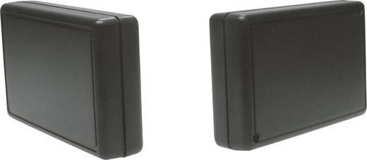 Strapubox műanyag műszerház, 106x62,5x23 mm, fekete, 2230SW