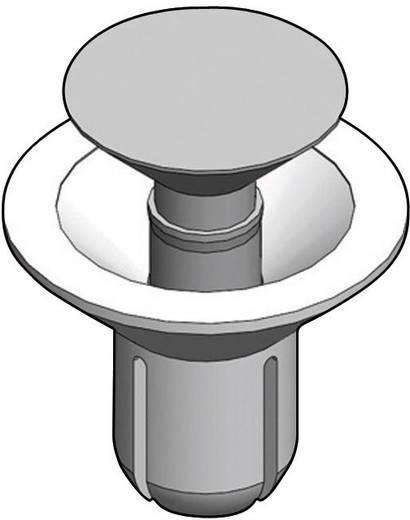Richco Süllyesztett fejű szegecsek, SRCS 9.8 x 2.7 x 6.5 x 5 x 8.5 mm Lemezméret 3.5 - 4.5 mm Poliamid Fekete