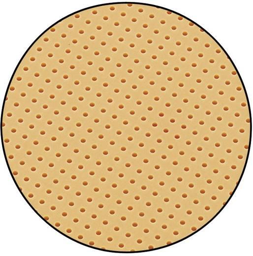 Conrad Keménypapír lyukraszteres panel SU528455 (H x Sz) 160 mm x 100 mm Raszterméret 2.54 mm Keménypapír