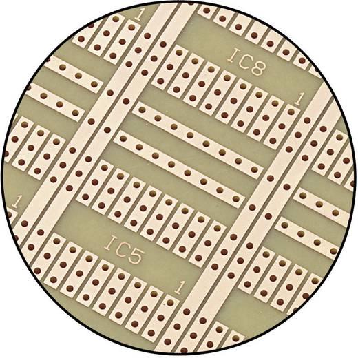 Conrad Europanel laborkártya SU527670 (H x Sz) 160 mm x 100 mm Raszterméret 2.54 mm Keménypapír