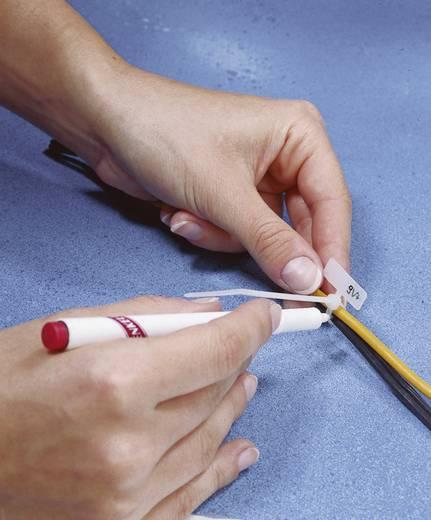 Feliratozható kábelkötöző, 100x2,5 mm, natúr, 1 db