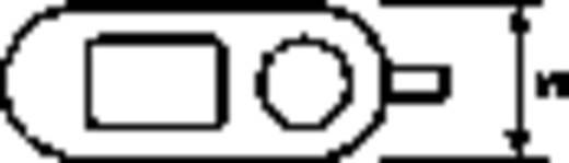 Törésgátló rögzítő bilincs Ø 6,7 mm, polamid, fekete, HellermannTyton KK2-N66-BK-D1